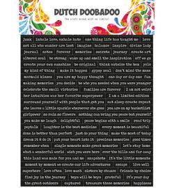 Dutch DooBaDoo – Stickers – Quotes