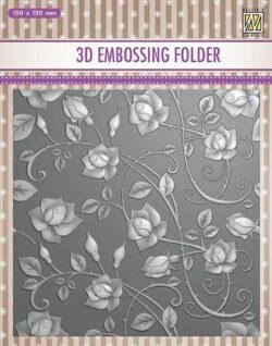 NS 3D Embossingfolder – Roses