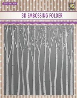 NS 3D Embossingfolder – Trees