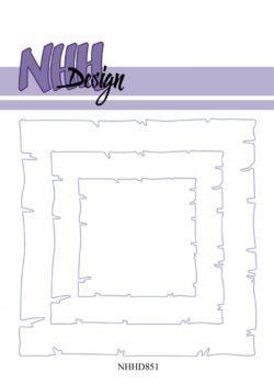 NHH Design Die – Old Paper – Square
