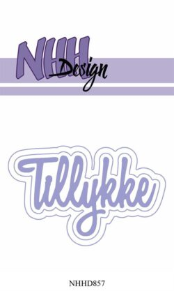 NHH Design Die – Tillykke med skygger