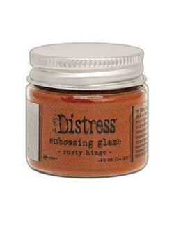 Distress Embossing Glaze Rusty Hinge