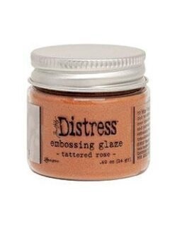 Distress Embossing Glaze Tattered Rose