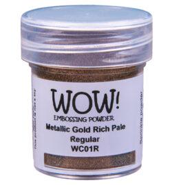WOW! Metallic Gold Rich Pale Regular