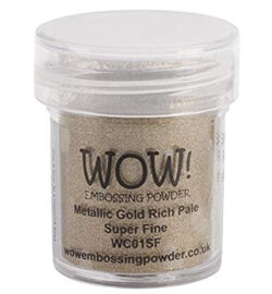 WOW! Metallic Gold Rich Pale Super Fine