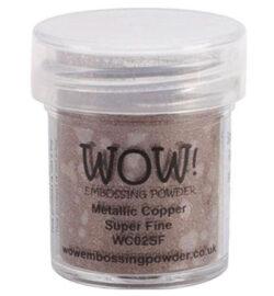 WOW! Metallic Copper Super Fine