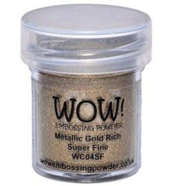 WOW! Metallic Gold Rich Super Fine