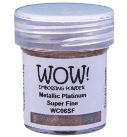 WOW! Metallic Platinum Super Fine