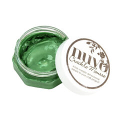 Nuvo crackle mousse Chameleon Green