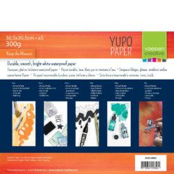 Vaessen Creative • Yupo papier White 30,5×30,5cm