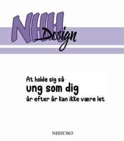 NHH Design Stempel – At holde sig så ung
