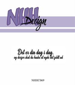 NHH Design Stempel – Det er din dag