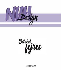 NHH Design Stempel – Det skal fejres