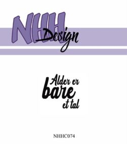 NHH Design Stempel – Alder er bare et tal