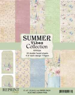 REPRINT Paperpack – 15,2×15,2 cm – Summer Vibes