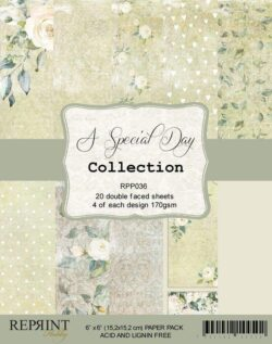 REPRINT Paperpack – 15,2×15,2 cm – A Special Day