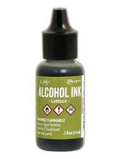 Ranger – Tim Holtz alcohol ink lettuce