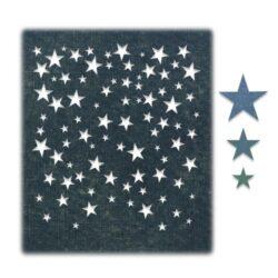 Sizzix/Tim Holtz Die – Falling Stars