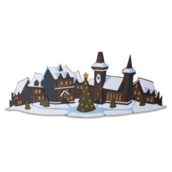 Sizzix/Tim Holtz Die – Holiday Village