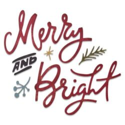 Sizzix/Tim Holtz Die – Merry & Bright