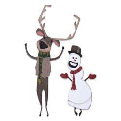 Sizzix/Tim Holtz Die – Christmas #2, Colorize