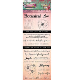 Studio Light – Chipboard Elements, Just Lou Botanical Collection nr.03