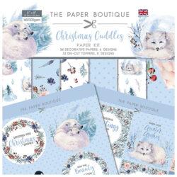 The Paper Boutique – Paper Kit – 20,32 x 20,32 cm – Christmas Cuddles