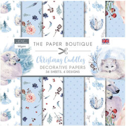 The Paper Boutique – Paperpad – 15,24 x 15,24 cm – Christmas Cuddles
