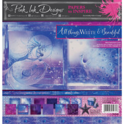 Pink ink –  Paperpad – 20,32 x 20,32 cm – All things