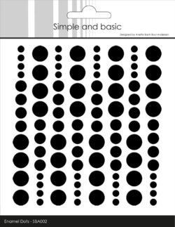 Simple and Basic Enamel Dots – Sort