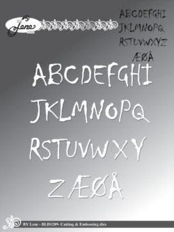 BY LENE DIE – Alfabet – Store bogstaver