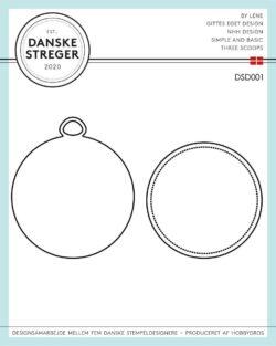 Danske Streger Die – Jul