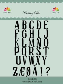 DIXI CRAFT DIE – Alphabet