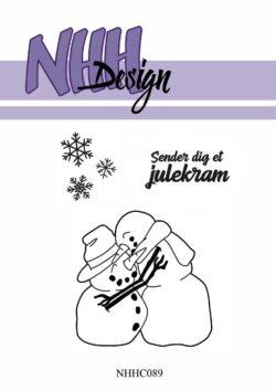 NHH Design Stempel – Krammende snemænd