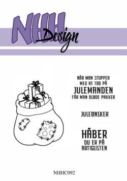 NHH Design Stempel – Julemandens sæk