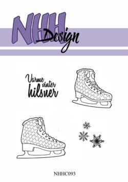 NHH Design Stempel – Skøjter