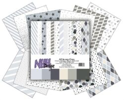 NHH – Paperpad – 30,5 x 30,5 cm – All in one – Grey