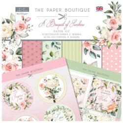 The Paper Boutique – Paper Kit – 20,3×20,3 – A Bouquet Of Sunshine