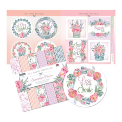 The Paper Boutique – Paper Kit – 20,3×20,3 – Summertime Blooms