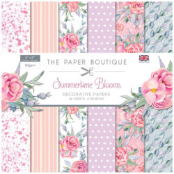 The Paper Boutique – Decorative Papers – 20,3×20,3 – Summertime Blooms