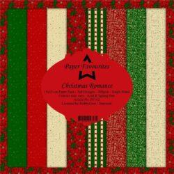 Paper Favourites – Paperpad – 15×15 cm – Christmas Romance