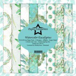 Paper Favourites – Paperpad – 30,5×30,5 cm – Watercolor Eucalyptus