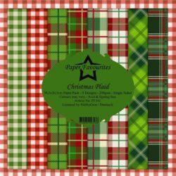 Paper Favourites – Paperpad – 30,5×30,5 cm – Christmas Plaid