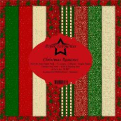 Paper Favourites – Paperpad – 30,5×30,5 cm – Christmas Romance