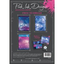 Pink ink – Rispapir – A4 – Free to dream