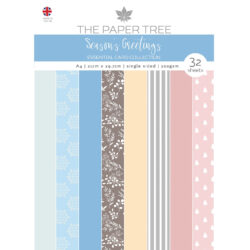 The Paper Boutique – Essential Colour card – A4 – Seasons Greetings