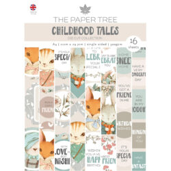 The Paper Boutique – Die Cut Sheets – A4 – Childhood Tales