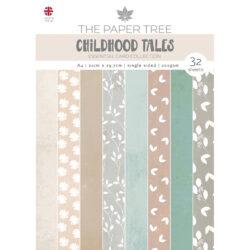 The Paper Boutique – Essential Colour card – A4 – Childhood Tales