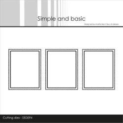 Simple and Basic Die – 3 Pierced Windows