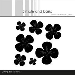 Simple and Basic Die – Flowers